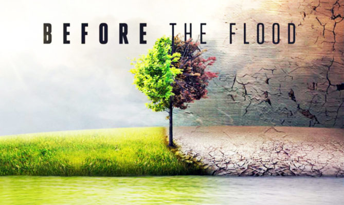 Before the flood, wake-up call voor de wereld en ieder individueel.